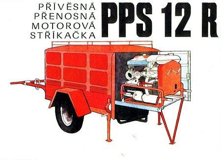 Přívěsná/Přenosná motorová stříkačka PS 12 R1